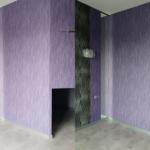 Комбинированное фото уборки помещения до и после