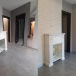 Комбинированное фото до и после уборки квартиры